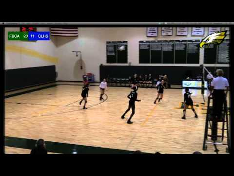 FBCA Eagles vs Concordia Lutheran High School Crusaders | Volleyball
