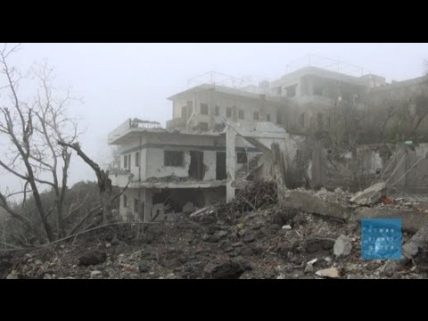 Syrian Air Force Bombing Civilians