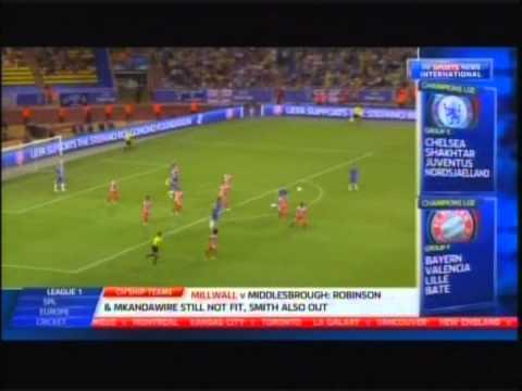 2012 August 31 Atletico madrid Spain 4 Chelsea England 1 UEFA Super Cup