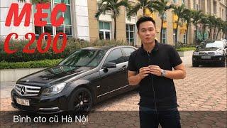 XE GÌ ĐẸP CHẤT VẬY | Bán Mercedes C200 2011 quá mới | trả góp 300tr | LH 0968831280