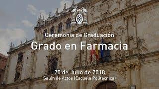 Graduación del Grado en Farmacia · 20/07/2018