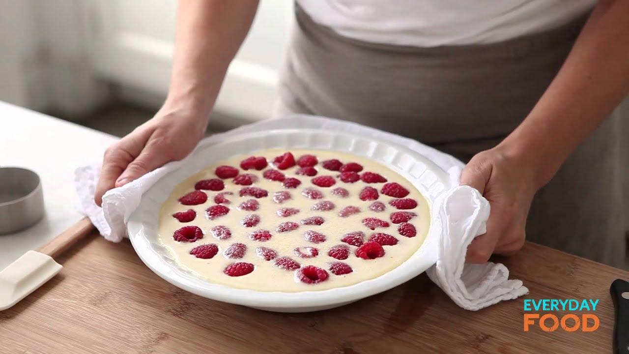 Baked Raspberry Custard | Everyday Food with Sarah Carey - YouTube