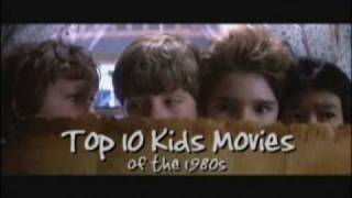 Top 10 Kids Movies of the 1980s - part 1 (#10-8)