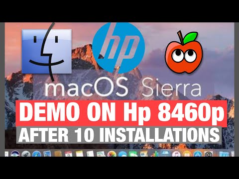 How To install hackintosh/macintosh/mac on hp laptops/pc (specially hp laptops - demo on hp 8460p)