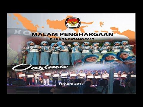 MALAM PENGHARGAAN PILKADA BATANG 2017 Dimeriahkan Oleh QASIMA Group Qosidah Dangdut dari Magelang