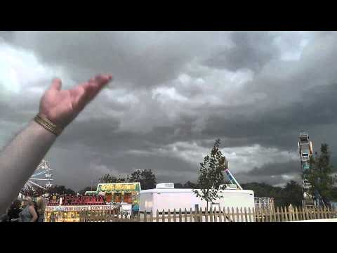 Storm Sirens at the Mercer County Fair 7/18/2012