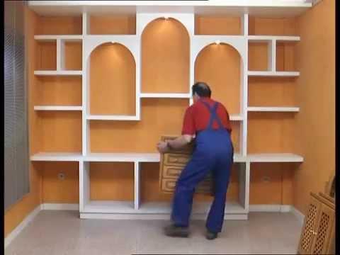 Muebles de pladur en madera su nombre es plegur youtube - Muebles en pladur ...