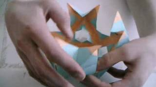 Origami Tutorial - How To Make The Origami Gyroscopic Butterfly Ball ( Clearer  Version )