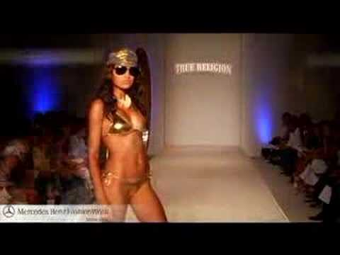 True Religion - Mercedes-Benz Fashion Week -- Miami Swim Video