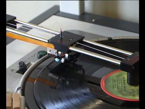 Optical Fibre Turntable for Archives Records