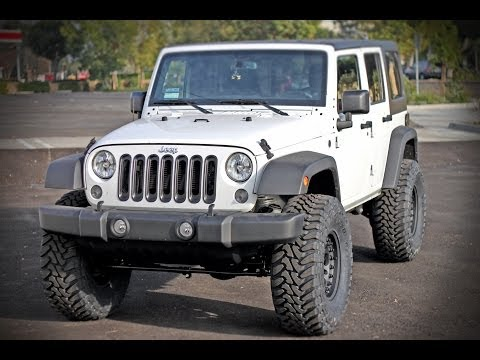 2014 JK Jeep Wrangler Gets Raised with a TeraFlex 3