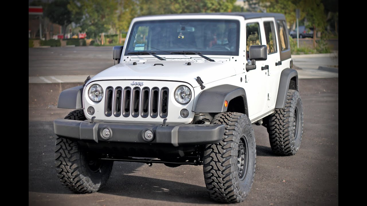 2014 Jk Jeep Wrangler Gets Raised With A Teraflex 3 Quot Lift