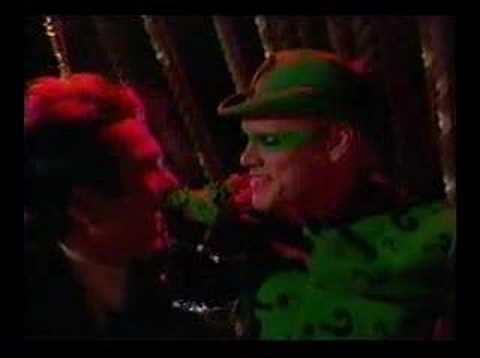 Jim Carrey - Batman Forever - Edward becomes The Riddler