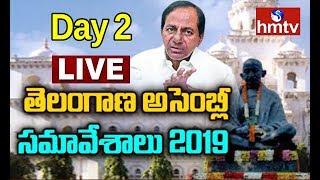 Telangana Assembly Sessions LIVE   CM KCR   Day 2   hmtv