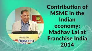 Contribution of MSME in the Indian