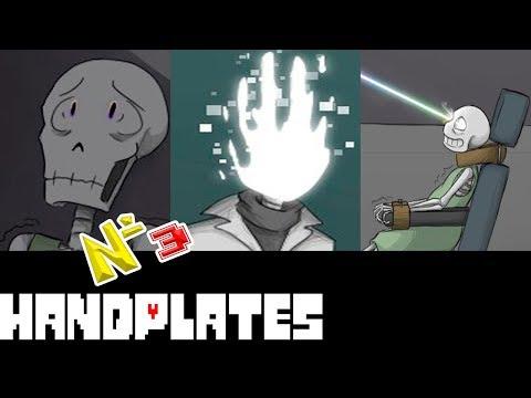 Comics - Handplates | Undertale часть 3 (Озвученный Комикс)🎙️
