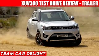 Mahindra XUV300 Test Drive Review Teaser 🔥 | Team car Delight