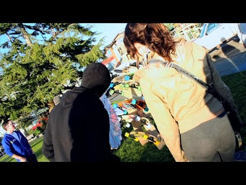 Landyachtz Longboards - University Tour 2011 - Part 1
