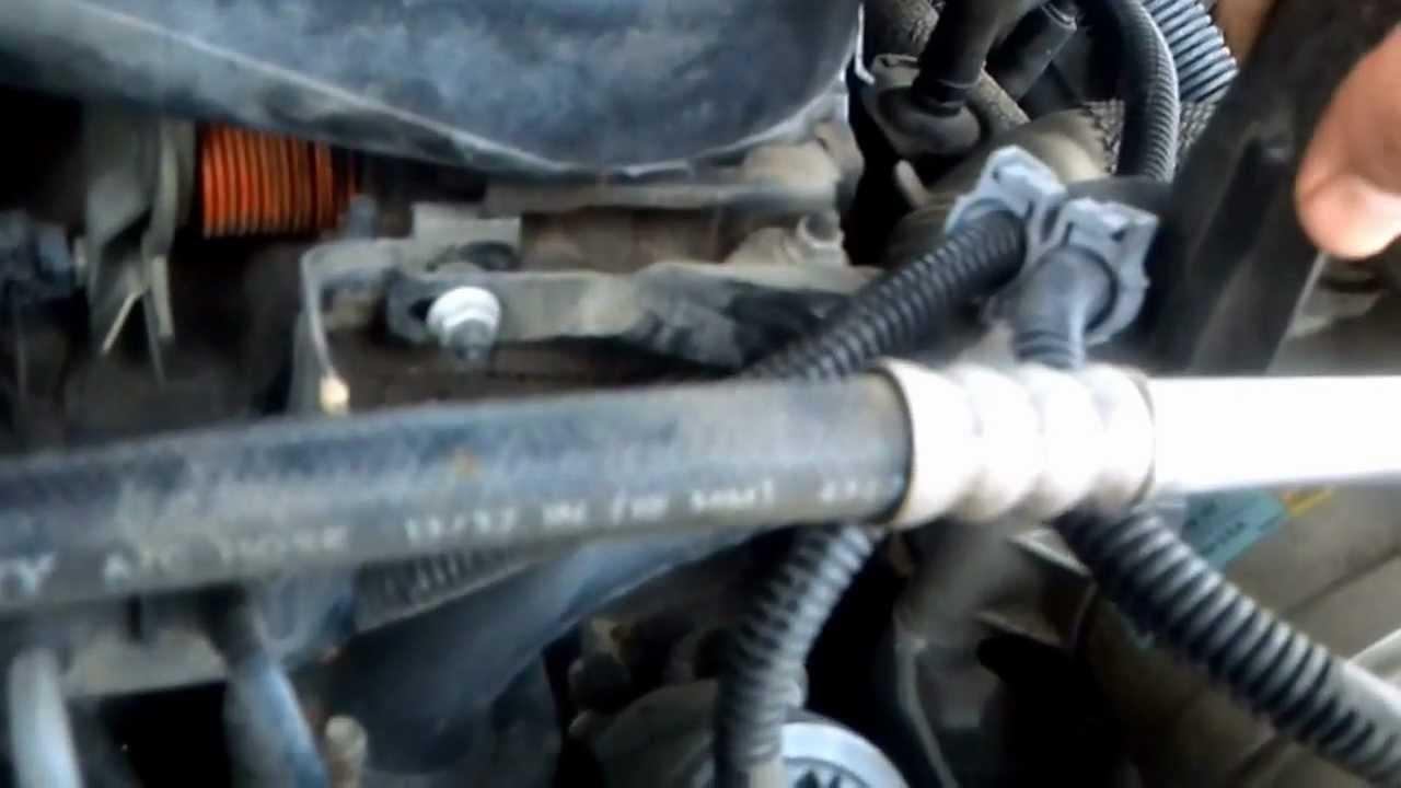 Como Cambiar Termostato A 01 Chevy Silverado Youtube
