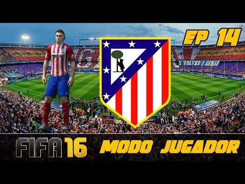 FIFA 16 Modo Carrera ''Jugador'' Atlético de Madrid - ¡CHOLO SIMEONE AL HABLA! EP 14