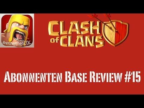 Clash of Clans: Abonnenten Base Review #15 - Schlaf mal mehr!