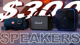 The Best $300 Portable Speaker - JBL XTREME 2 Vs Marshall KILBURN 2 Vs Sony XB501G