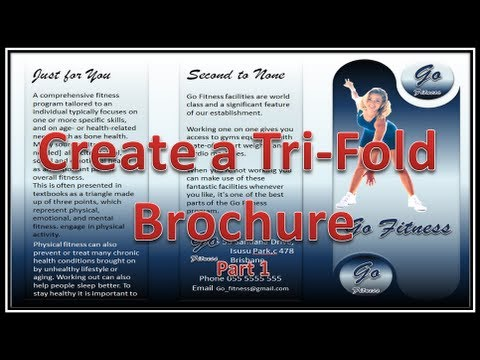 Make Brochure - Make Brochures with Microsoft PowerPoint 2010 - Part 1