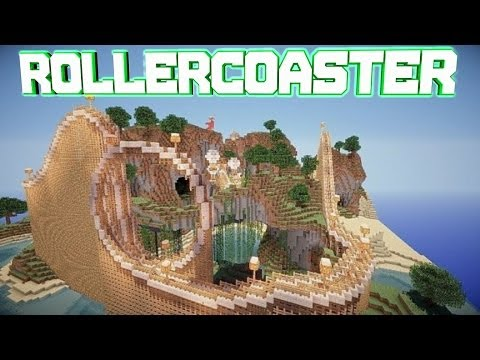 Minecraft PE 0.8.1 RollerCoaster [DOWNLOAD]