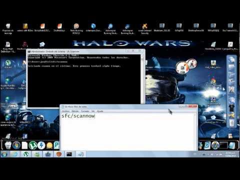 Como reparar archisvos dañados del sistema operativo windows 7