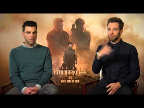 Star Trek 2 Chris Pine und Zachary Quinto im Interview