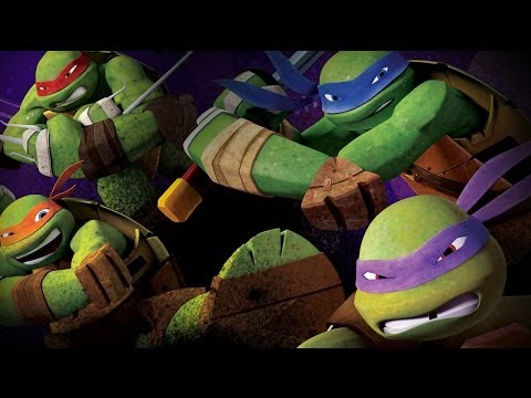Teenage Mutant Ninja Turtles Theme Song (2012-2014) with Lyrics [TMNT]