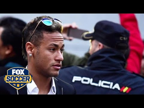 Barcelona star Neymar appears in court on tax fraud charges