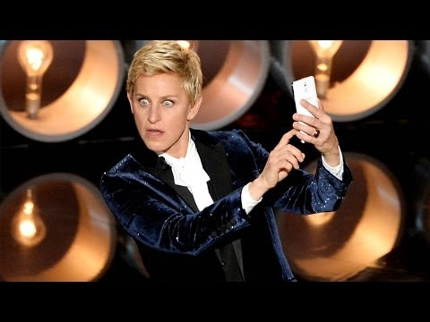 Ellen Jokes Jennifer Lawrence Fall in Oscars Opening Monologue Speech 2014