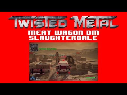 Twisted Metal - Meat Wagon in Slaughterdale (HD)