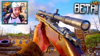 Call of Duty: WW2 BETA GAMEPLAY *LIVE* - PLAYING EARLY! (COD WORLD WAR 2 MULTIPLAYER)