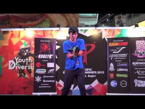 Asia Pacific Yoyo Contest 2015 1A-13th Place Brandon Vu