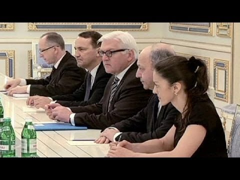 Ukraine: Talks to resume between President Viktor Yanukovych and foreign ministers