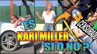 Es Kari Miller o No? La atr0pell4n haciendo el Kiki Challenge?