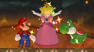 New Super Mario Bros Wii - All Castles with Yoshi