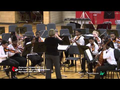 Colerain Middle School Fall Instrumental Showcase of October 28, 2014