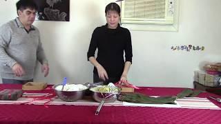Cuộc sống ở Mỹ : Công thức và cách gói bánh chưng ngày tết / Không ngon không lấy tiền :-)