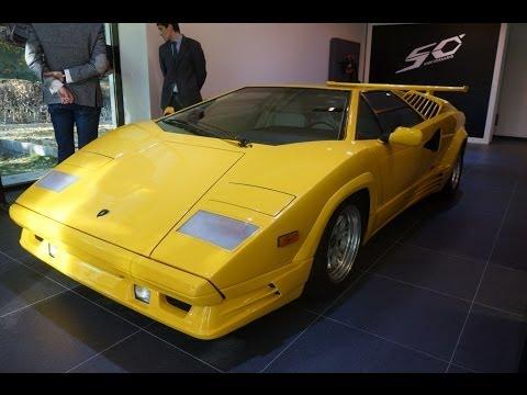 Lamborghini Countach+Aventador Roadster. Oбзор. Anton Avtoman
