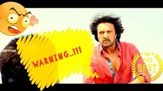 Manikya warning dialog scene in kannada HD
