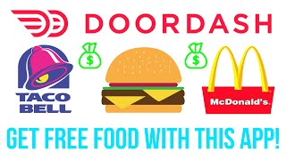DoorDash Food Delivery LIVE (Get FREE Food 24/7)!
