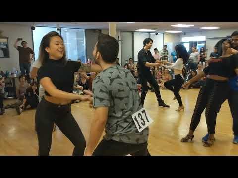 ZEDFSD2018 Intermediate J&J Final Group dance ~ Zouk Soul