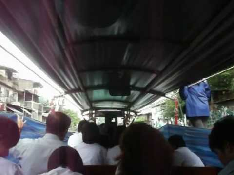 Boat taxi ride in Bangkok, Thailand 1of2 – DSCF5547.AVI