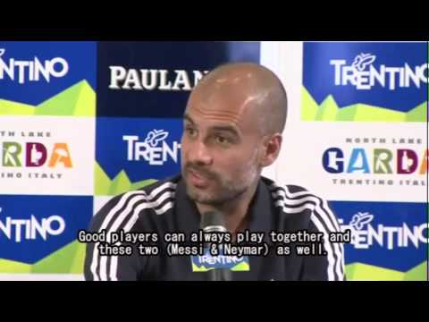 [Classic Pep] - If I want to have dinner with Johan Cruyff I will