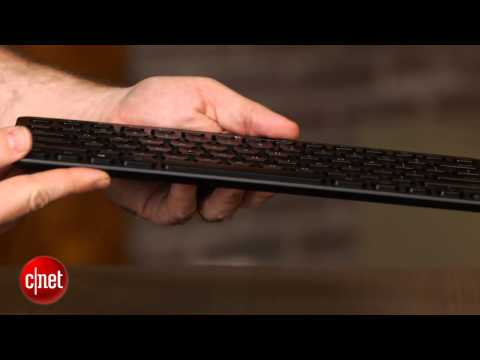 Logitech's backlit. Bluetooth-powered luxury keyboard