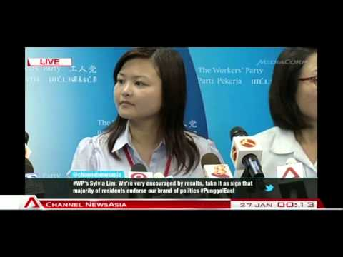 Workers' Party's Press Conference on Punggol East SMC By-Election victory - 27Jan2013