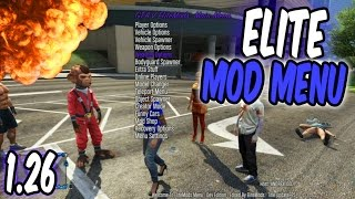 GTA 5 Online - Elite Mod Menu 1.26! TU26 [RGH/JTAG]
